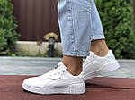 Женские кроссовки Puma Cali Bold (белые) 9635, фото 4