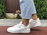 Женские кроссовки Puma Cali (белые) 9636, фото 4