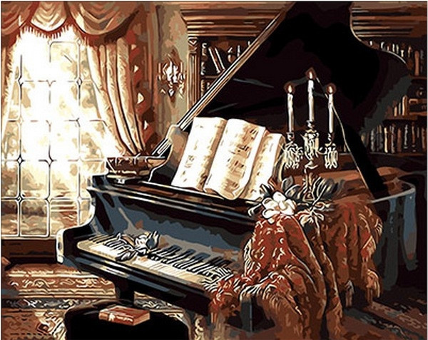 Картина по номерам 40×50 см. Mariposa Солнечая соната Джуди Гибсон (Q 300)