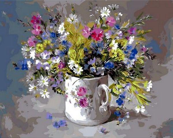 Картина по номерам 40×50 см. Mariposa Подарок для любимой Художник Anne Cotterill (Q 979)
