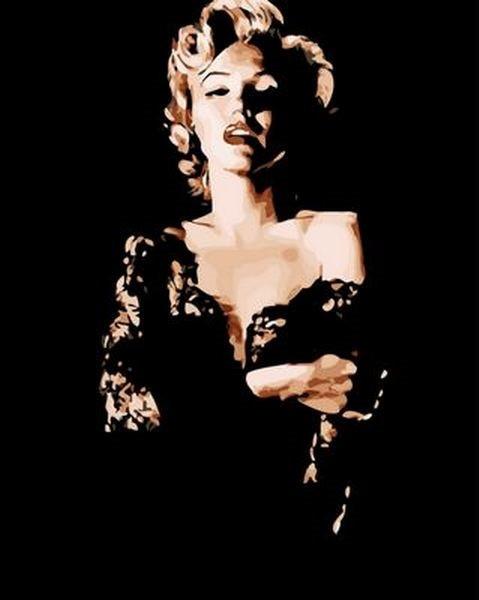 Картина по номерам 40×50 см. Mariposa Мэрилин Монро (Q 1175)