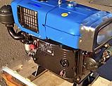 Двигатель для мототрактора ZH1115N (24 л.с.), фото 3