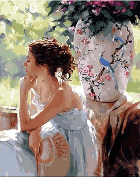 Картина по номерам 40×50 см. Mariposa Мечтательница Художник Ричард Джонсон (Q 1443)
