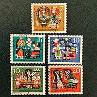 10Почтовые марки -Сказки Германия Q3