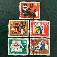 11Почтовые марки -Сказки Германия Q3