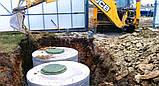 Копаем выгребные ямы,монтаж септика, фото 3
