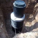 Копаем выгребные ямы,монтаж септика, фото 7