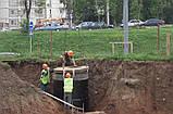 Копаем выгребные ямы,монтаж септика, фото 8