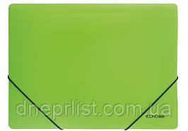 Папка на резинках А4, Economix цветная, Салатовая