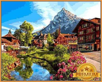 Картина по номерам 40×50 см. Babylon Premium (цветной холст + лак) Швейцария (NB 1147)