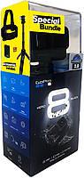 GoPro HERO8 Bundle (CHDRB-801) (монопод + штатив, крепление на голову, карта памяти 32 ГБ, аккумулятор)