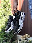 Чоловічі кросівки Puma Cali Bold (чорно-білі) 9637, фото 3