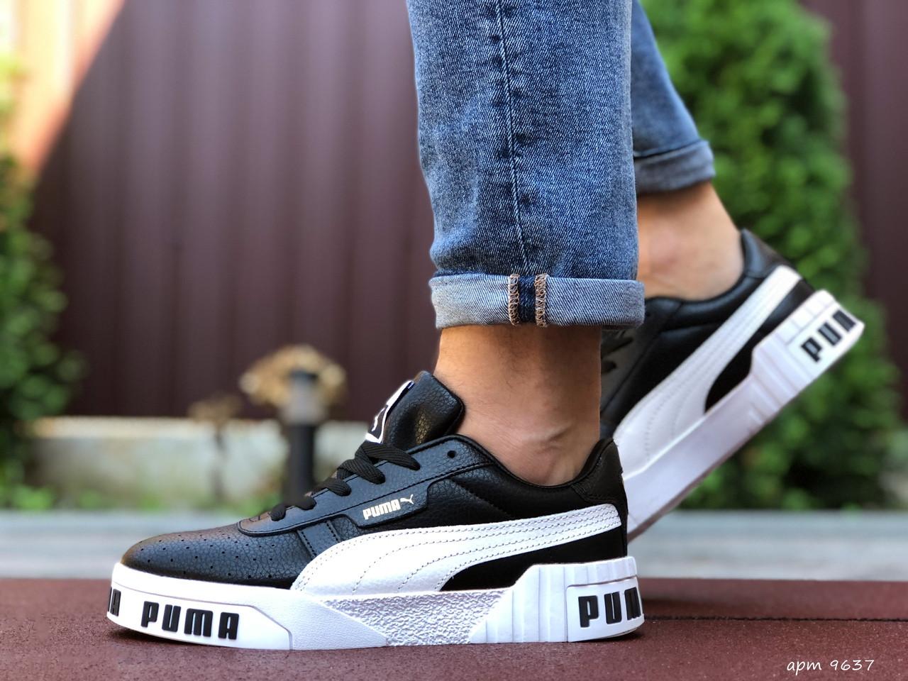 Чоловічі кросівки Puma Cali Bold (чорно-білі) 9637