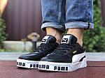 Чоловічі кросівки Puma Cali Bold (чорно-білі) 9637, фото 2