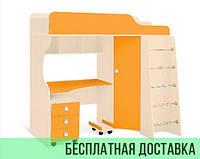 Кровать детская  НЕПОСЕДА-1 Design Service (782)