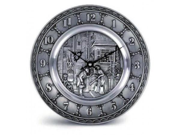 """Часы настенные D 25см. """"К.Шпицвег"""" (""""Spitzweg"""")"""