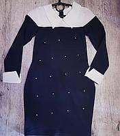 Школьное платье для девочки оптом 128-134-140-146-152