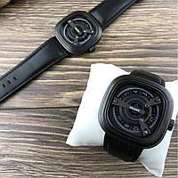 Чоловічі наручні годинники Paidu чорні, кварцові, від батарейок, еко-шкіра, годинники наручні Paidu