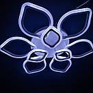Люстра потолочная цветок LED  20-LI8838/6+3C 186W WH, фото 2