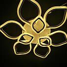 Люстра потолочная цветок LED  20-LI8838/6+3C 186W WH, фото 7