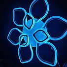 Люстра потолочная цветок LED  20-LI8838/6+3C 186W WH, фото 6