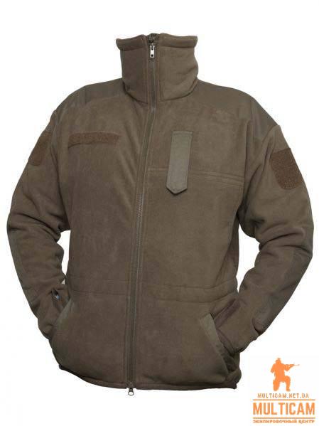 Куртка флисовая с мембраной армейская ВС Австрии. Оригинал 1 сорт - Олива