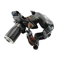 Ліхтарик світлодіодний налобний Police W615 потік 1050лм, до 600м, від акумулятора, налобний ліхтар, ліхтар, ліхтарик