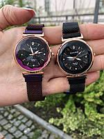 Жіночі наручні годинники KAYUER чорні, нержавіюча сталь, годинники жіночі на руку