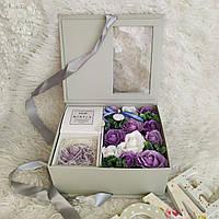 Подарок для любимой. Набор роз из мыла. Подарок на день рождения. Цветы из мыла. Набор цветов