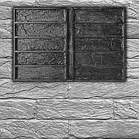 """Резиновая форма """"Кирпич Лофт"""" для декоративного кирпича. 1 форма = 0,18 м² за цикл заливки, фото 1"""