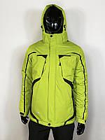 Куртка мужская салатовая L