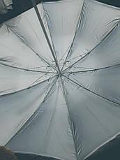 Большой зонт с клапаном , Серебряное напыление, защита от УФ лучей. Диаметром  2.50 м, фото 3