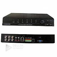 Відеореєстратор стаціонарний DVR WIFI 3G 8004 HDMI 4A / V