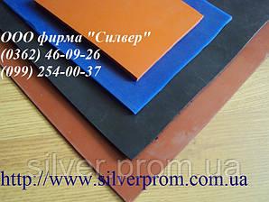 Силиконовая резина листовая толщиной 1, 2, 3, 4,5, 6, 8,10 мм, шириной 1200 мм