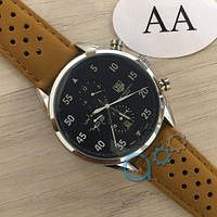 Механические мужские часы TAG Heuer Carrera 1887 SpaceX Automatic Silver-Black CL