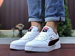 Мужские кроссовки Puma Cali Bold (бело-черные) 9639, фото 3