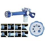 Распылитель воды, насадка на шланг, водяная пушка, водомет с отсеком для моющих средств Ez Jet Water Cannon, фото 8