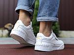 Чоловічі кросівки Puma Cali Bold (білі) 9640, фото 3
