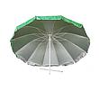 Зонт с клапаном , Серебряное напыление, защита от УФ лучей. Диаметром 2.25 м, фото 6