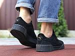 Мужские кроссовки Puma Cali Bold (черные) 9641, фото 3