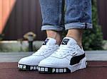 Мужские кроссовки Puma Cali Bold (бело-черные) 9642, фото 3