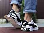 Мужские кроссовки Puma Cali Bold (бело-черные) 9642, фото 4