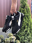 Чоловічі кросівки Puma Cali Bold (чорно-білі) 9643, фото 4