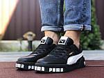 Чоловічі кросівки Puma Cali Bold (чорно-білі) 9643, фото 2