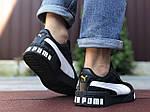 Чоловічі кросівки Puma Cali Bold (чорно-білі) 9643, фото 3