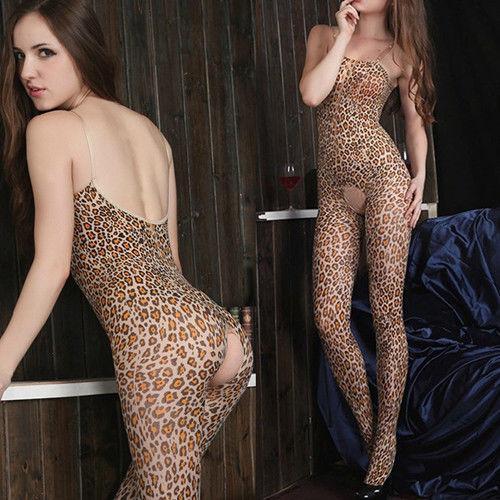 Леопардовый бодик