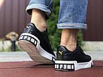 Мужские кроссовки Puma Cali Bold (черно-белые) 9644, фото 3