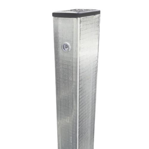 Столб для Забора 3D Забор™ – 2000 мм (для секции h-1,53 м) в бетон
