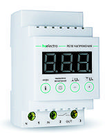 Реле напряжения HS ELECTRO 63A с термозащитой