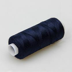 Нитки швейные 40/2 Kiwi 400 ярдов тон 322 темно-синий